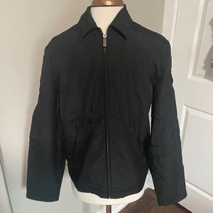Structure jacket zip up black small